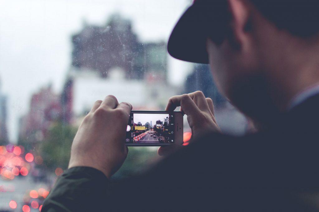 film avec smartphone
